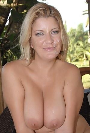 Free Big Boobs Facial Porn Pictures